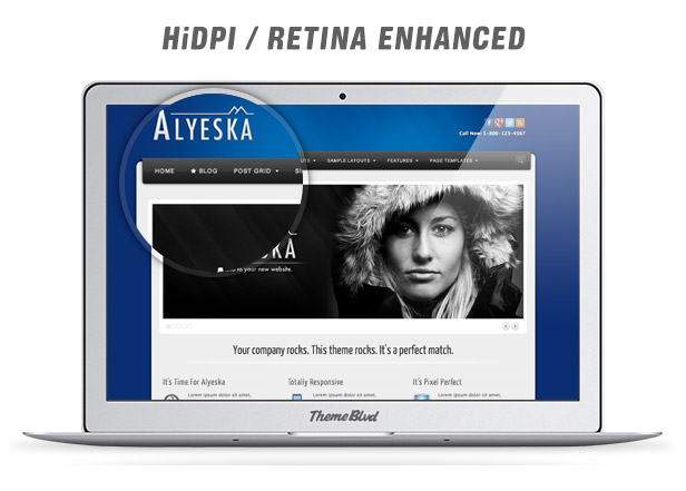 Alyeska Responsive WordPress Theme - 5