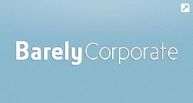 Barely Corporate WordPress Theme
